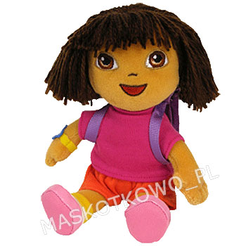 Knitting Pattern For Dora The Explorer Doll : Dora Explorer (TY) - 20cm :: Maskotkowo.pl