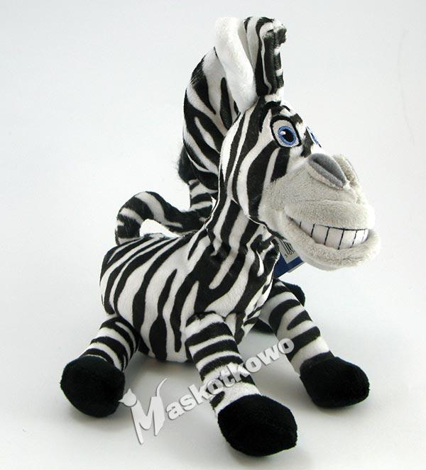 dreamworks bohaterowie madagaskar maskotka zebra marty 22cm. Black Bedroom Furniture Sets. Home Design Ideas