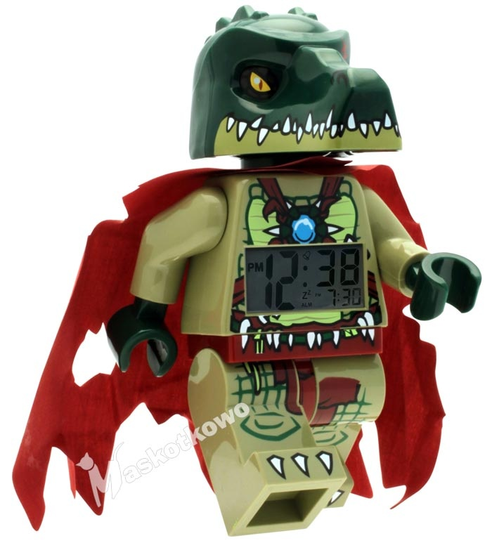 Lego Chima Cragger Minifigure Lego Zegarek Budzik Chima Cragger