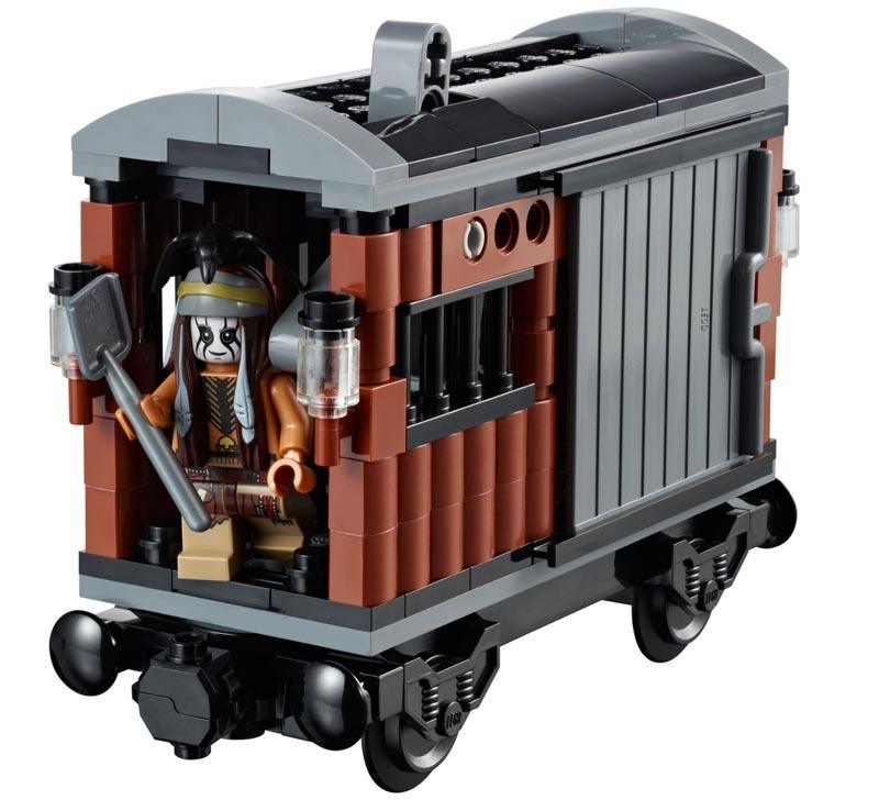 Lego Lone Ranger 79111 Pościg za pociągiem :: Maskotkowo.pl