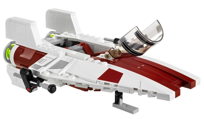 lego star wars 75003 a wing starfighter. Black Bedroom Furniture Sets. Home Design Ideas