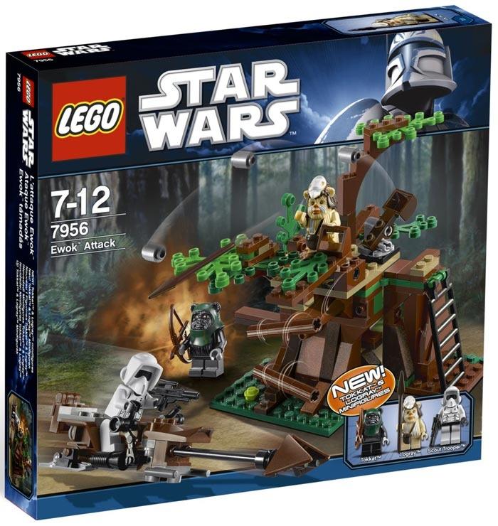 Lego star wars 7956 ewok attack