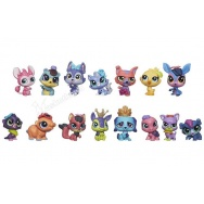 Littlest Pet Shop - komplet 15 zwierzątek - Pet Party Spectacular B3808