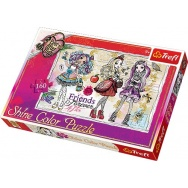 Puzzle 160 - Ever After High - Shine Color Puzzle 30006