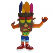 Crash Bandicoot: Maskotka Crash Bandicoot w masce AKU AKU 35cm (18777)