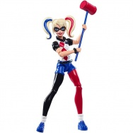Dc Super Hero Girls - figurka superbohaterki: Harley Quinn DMM36
