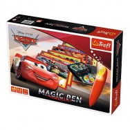 Gra Planszowa: Auta : Cars - Magic Pen 01604