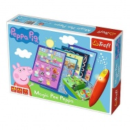 Gra Planszowa: Świnka Peppa - Magic Pen 01603