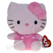 Hello Kitty (TY) - Kitty różowa 15cm