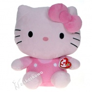 Hello Kitty (TY) - Kitty różowa 28cm