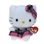 Hello Kitty (TY) - Szkocka Krata 15cm