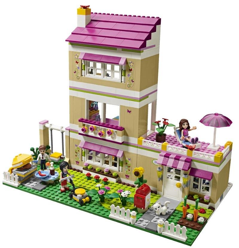 Lego Friends 3315 Dom Olivii Maskotkowopl