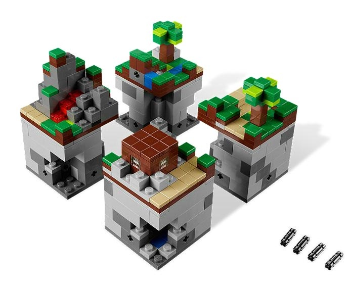 Lego Minecraft 21102 Micro World Maskotkowopl