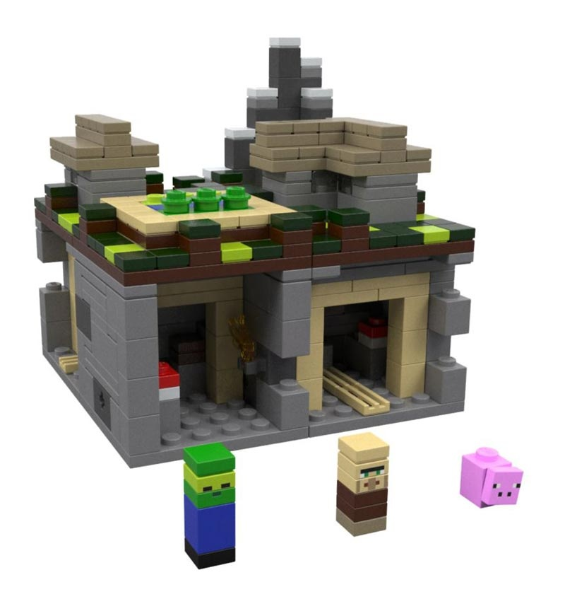 Lego Minecraft 21105 The Village Wioska Maskotkowopl
