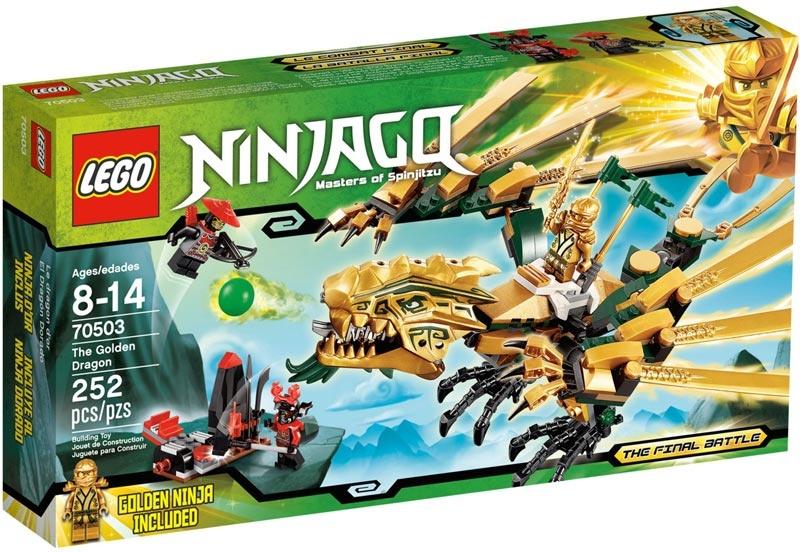Lego ninjago 70503 z oty smok - Lego ninjago nouvelle saison ...