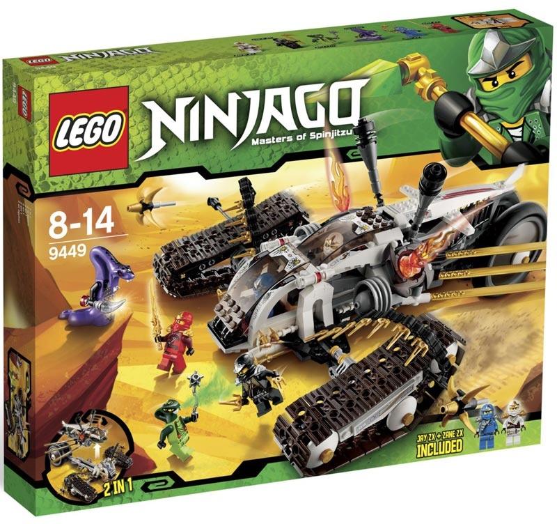 Lego Ninjago 9449 Pojazd Ultradźwiękowy Maskotkowopl