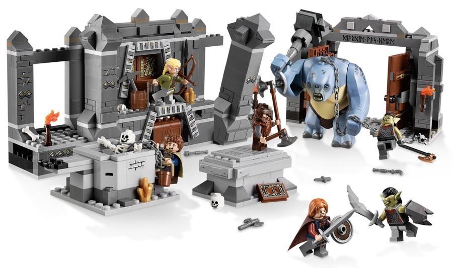 Lego Lord Of The Rings Władca Pierścieni 9473 Kopalnie Morii