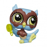 Littlest Pet Shop - figurka podstawowa - sowa - Feathers Underwood - A8520