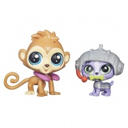 Littlest Pet Shop - figurki 2pak - B3545 Cheep Cheep Chipman i Luke Yorkshire