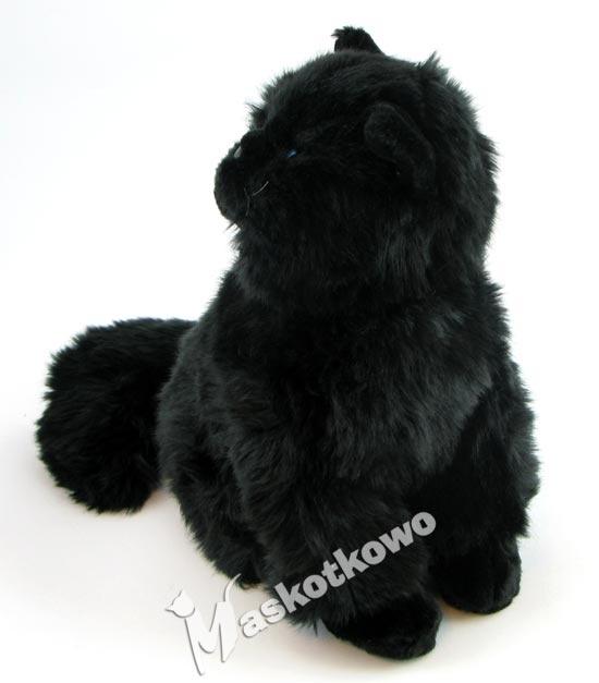 Maskotka Kot Perski Czarny 25cm 11484 Maskotkowopl