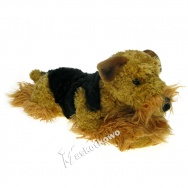 Maskotka Pies Airedale Terrier 40cm 84808