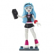 Mega Bloks - Monster High - figurka/mini laleczka s.3 - Ghoulia Yelps