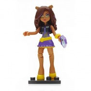 Mega Bloks - Monster High - figurka/mini laleczka s.3 - Clawdeen Wolf