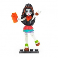 Mega Bloks - Monster High - figurka/mini laleczka s.3 - Skelita Calaveras