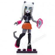 Mega Bloks - Monster High - figurka/mini laleczka - Meowlody