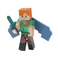 Minecraft: Figurka Alex i Elytra Wings