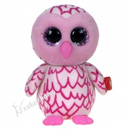 Mini Boos Collectibles - seria 1- figurka do kolekcjonowania - sowa PINKY