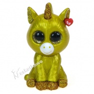 Mini Boos Collectibles - seria 2 - figurka do kolekcjonowania - GOLDEN UNICORN złoty jednorożec (unikat)