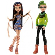 Monster High - Boo York, Boo York  - komplet lalek: Cleo i Deuce