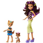 Monster High - Monster Family - Clawdeen Wolf i rodzeństwo FCV81