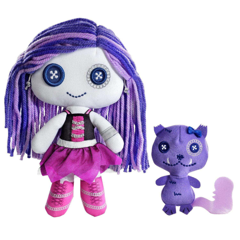 Monster High Pluszaki Potworzaki Spectra Vondergeist I Fretka Rhuen