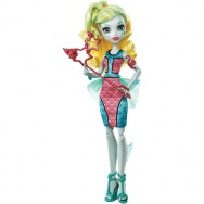 Monster High - Witamy w Monster High - lalka Lagoona Blue