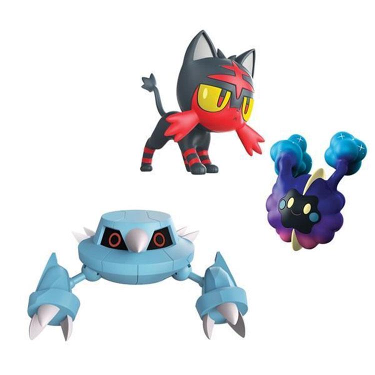 4ee9bae75e5c6 Pokemon - CH - komplet 3 figurek - Metang, Litten i Cosmog (97524 ...