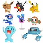 Pokemon - CH - komplet 8 figurek - Battle figure multi pack (96306)