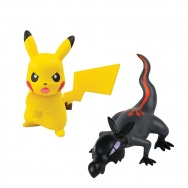 Pokemon Go - Pokemon Sun i Moon - TOMY - komplet 2 figurek - T19180 Salandit vs Pikachu