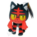 Pokemon Sun i Pokemon Moon - TOMY - maskotka Litten T19391