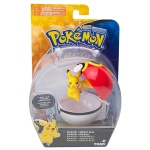 Pokemon - TOMY - figurka+kula - T19119 Pikachu + Repeat Ball