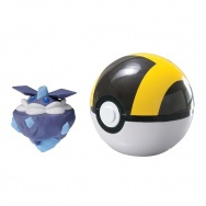 Pokemon - TOMY - figurka+kula - T19126 Carbink + Ultra Ball