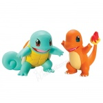 Pokemon - TOMY - komplet 2 figurek - T18758 Squirtle vs Charmander