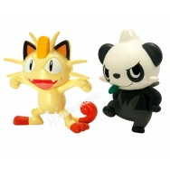 Pokemon - TOMY - komplet 2 figurek - T18866 Meowth vs Pancham