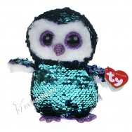 Pupilki (Ty Beanie Boos Flippables): sowa Moonlight 15cm