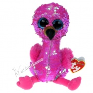 Pupilki (Ty Beanie Boos Flippables): flaming Pinky 25cm