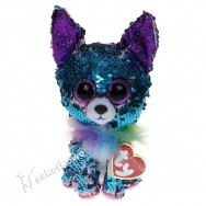 Pupilki (Ty Beanie Boos Flippables): piesek chihuahua Yappy 19cm