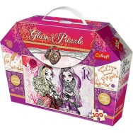 Puzzle 100 - Ever After High 14806 - puzzle z brokatem