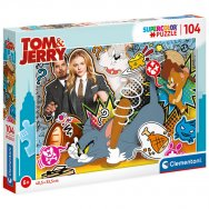 Puzzle 104 elementy - Tom & Jerry (27515)