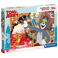 Puzzle 104 elementy - Tom & Jerry (27516)